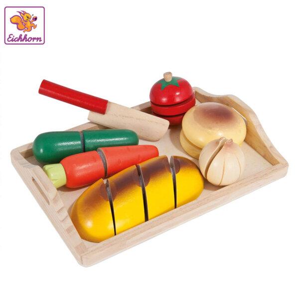 Eichhorn Дървена дъска с продукти за рязане 100003731