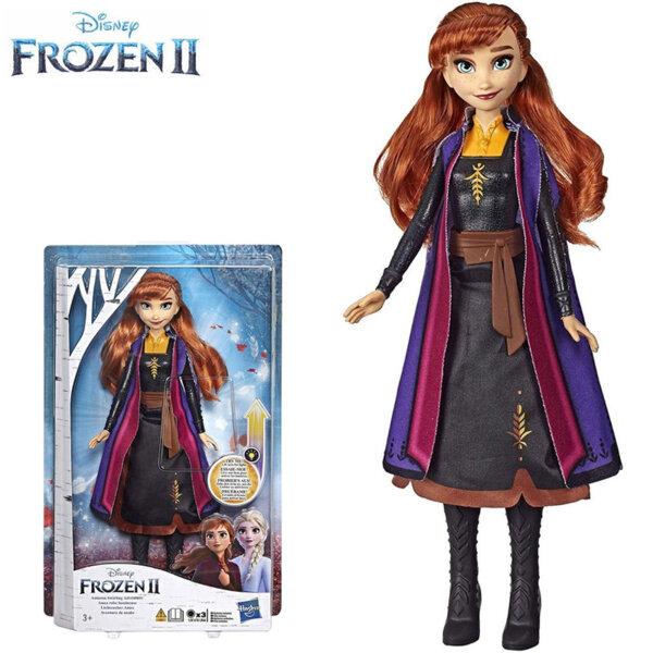 Disney Frozen II Kукла Анна с рокля  със светлинни ефекти E6952-E7001