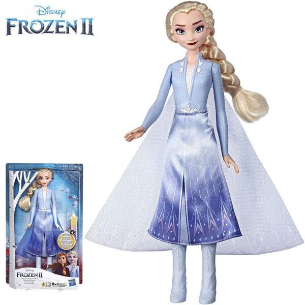 Disney Frozen II Kукла Елза с рокля със светлинни ефекти E6952-E7000