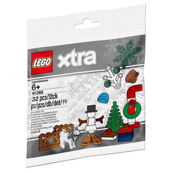 Lego 40368 xtra Коледни аксесоари