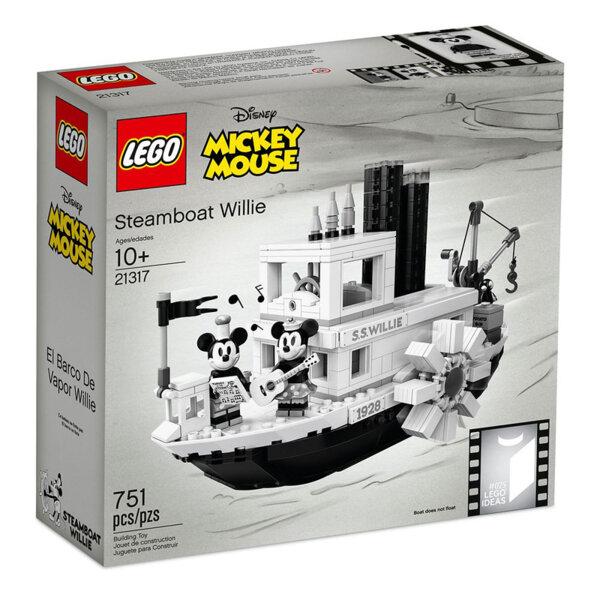 Lego 21317 Ideas Disney Mickey Mouse Парният кораб Уили