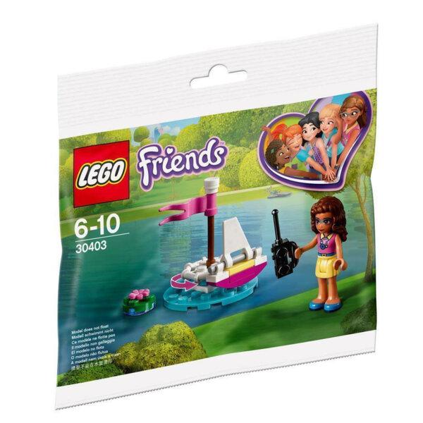 Lego 30403 Friends Лодката с дистанционно на Оливия