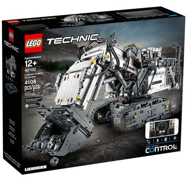 Lego 42100 Technic Control+ Багер Liebherr R 9800