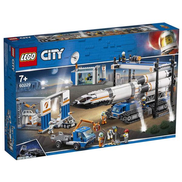 Lego 60229 City Сглобяване и транспорт на ракета