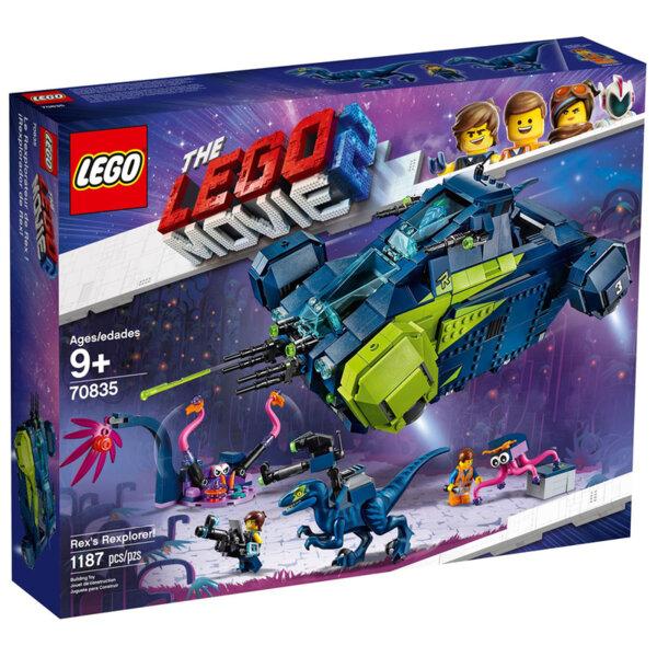 Lego 70835 Movie 2 Рексплоръра на Рекс