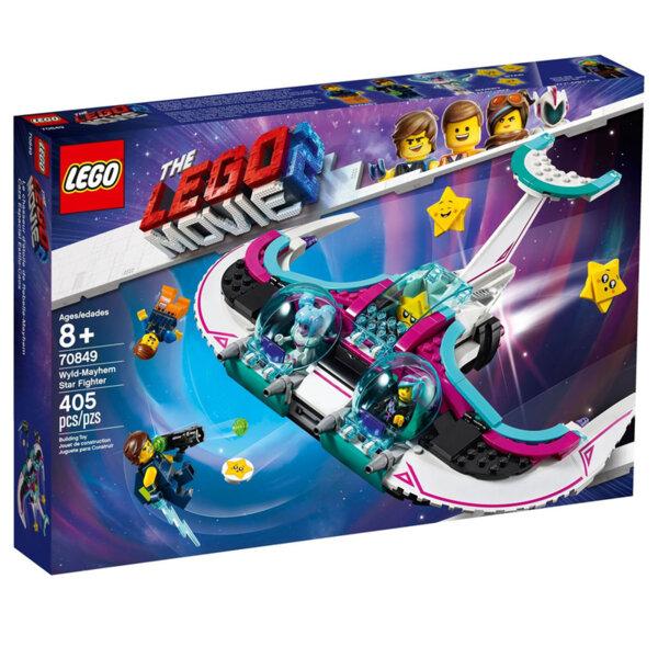 Lego 70849 Movie 2 Звездния боец на Уайълд-Мейхем