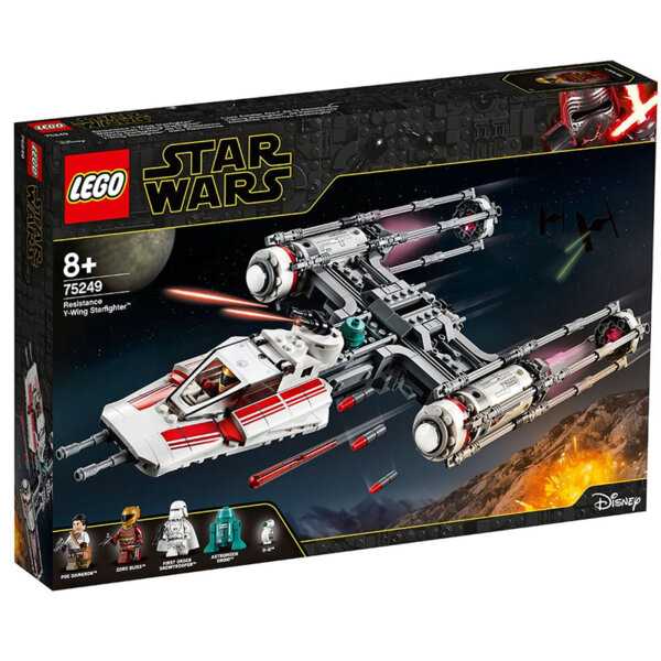 Lego 75249 Star Wars Звездобоецът на Съпротивата Y-Wing