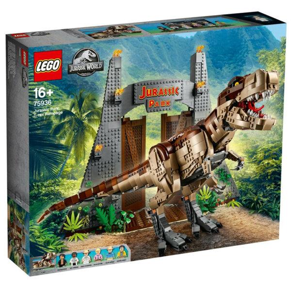 Lego 75936 Jurassic World Нападение на тиранозавър Рекс
