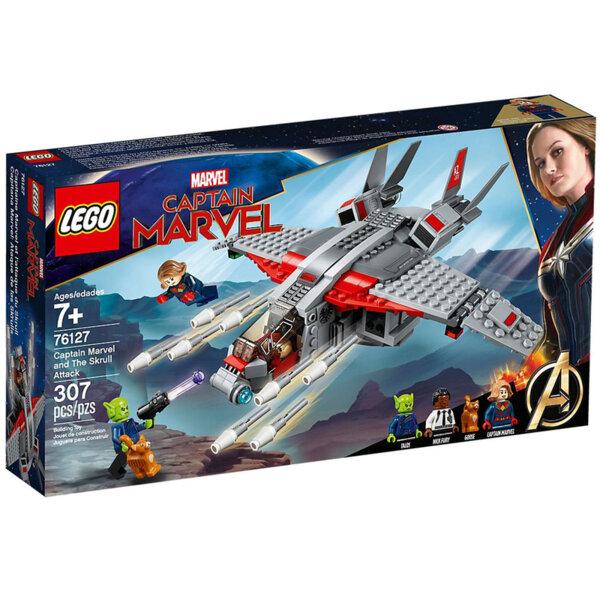 Lego 76127 Avengers Captain Marvel Капитан Марвел и атаката на Скръл