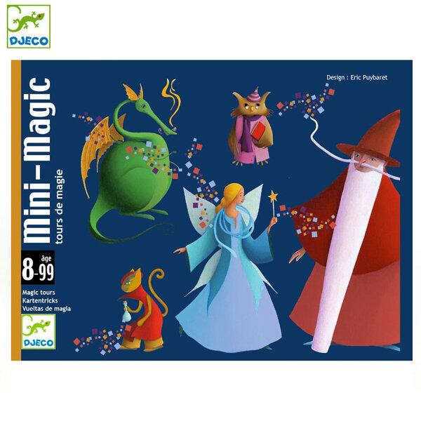 Djeco  Детски карти за игра - фокуси Mini Magic DJ05178