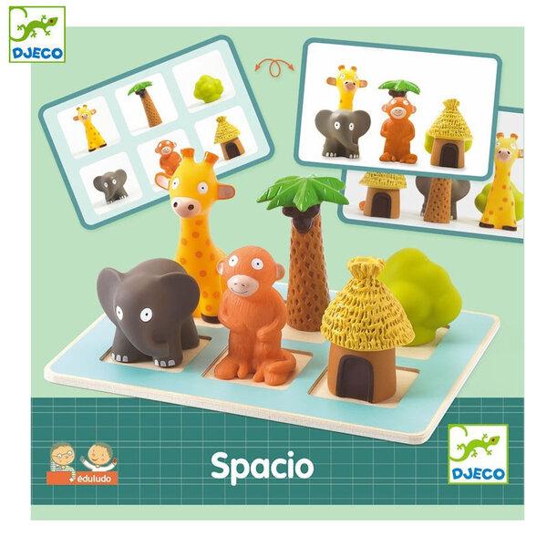 Djeco Дървена образователна игра Spacio DJ08310