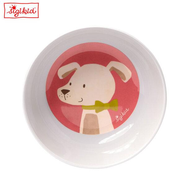 Sigikid Детска купичка за хранене Hund 24996