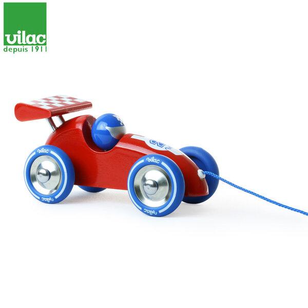 Vilac Дървена ретро количка за дърпане 2309r