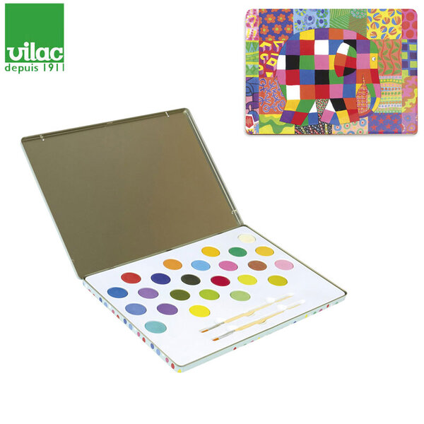 Vilac Водни бои за рисуване Elmer 5927
