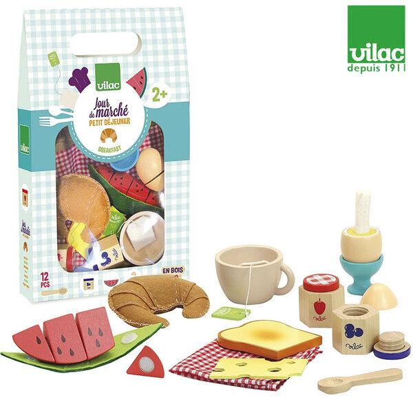 Vilac Дървен комплект Моята закуска 8120