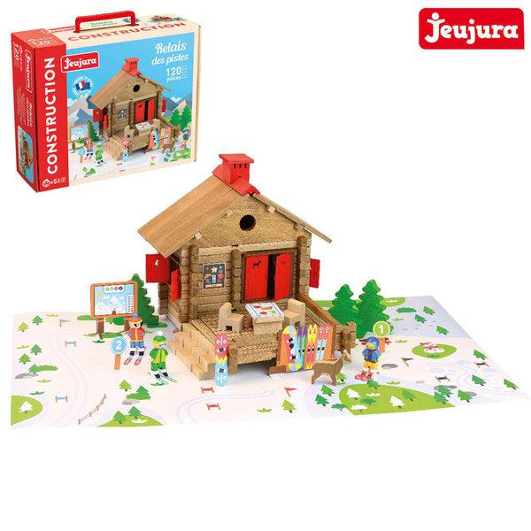 Jeujura Дървен конструктор Къща в планината J8077