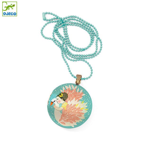 Djeco Детски медальон Lovely surprise Лебед DD03841