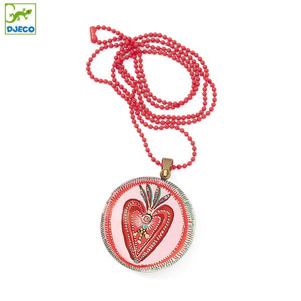 Djeco Детски медальон Lovely surprise Сърце DD03845