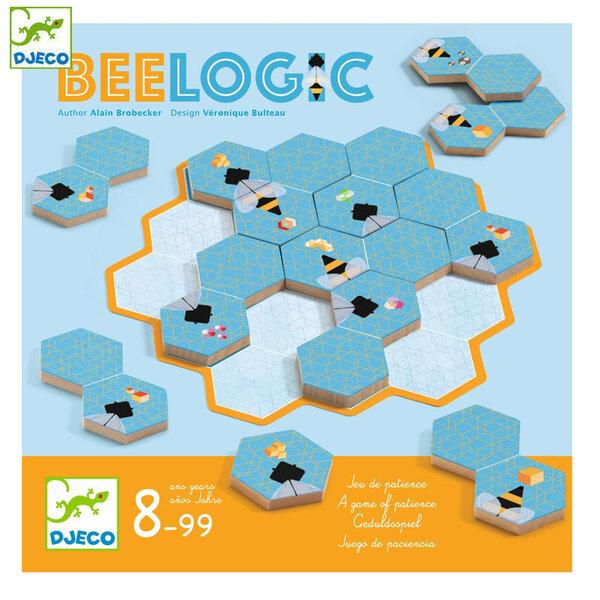 Djeco Детска логическа игра Bee Logic DJ08548