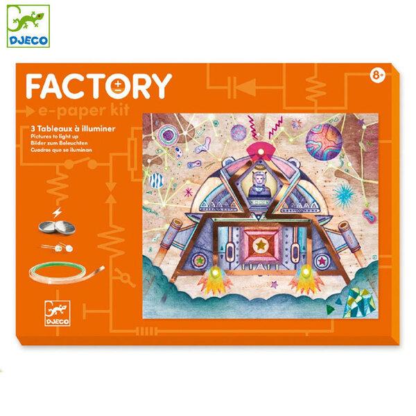 Djeco Factory Направи картини с електричество Odyssey DJ09310