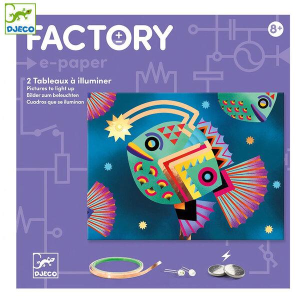 Djeco Factory Направи картини с електричество Abysses DJ09314