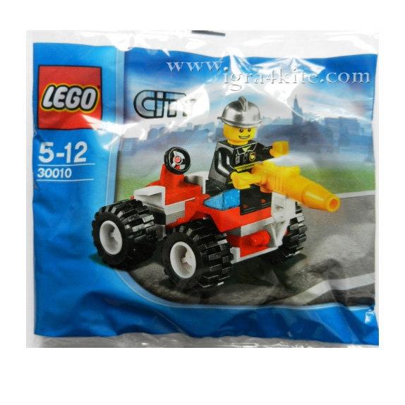 Lego 30010 City - Шефът на пожарната