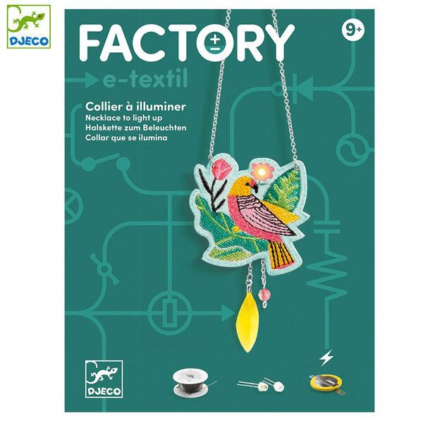 Djeco Factory Направи брошки с електричество Calypso DJ09323
