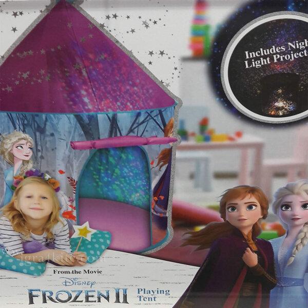Disney Frozen Палатка Замръзналото кралство с LED светлини 8490