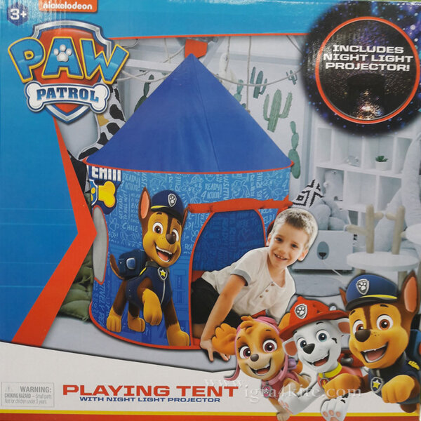 Paw Patrol Детска палатка Пес Патрул с LED светлини 7189