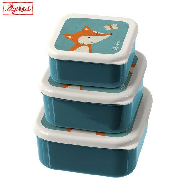 Sigikid Комплект кутии за храна Лисиче 24985