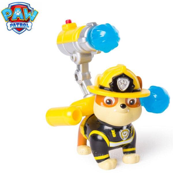 Paw Patrol Кученцето Rubble с изстрелвачка и водни ракети 6026592