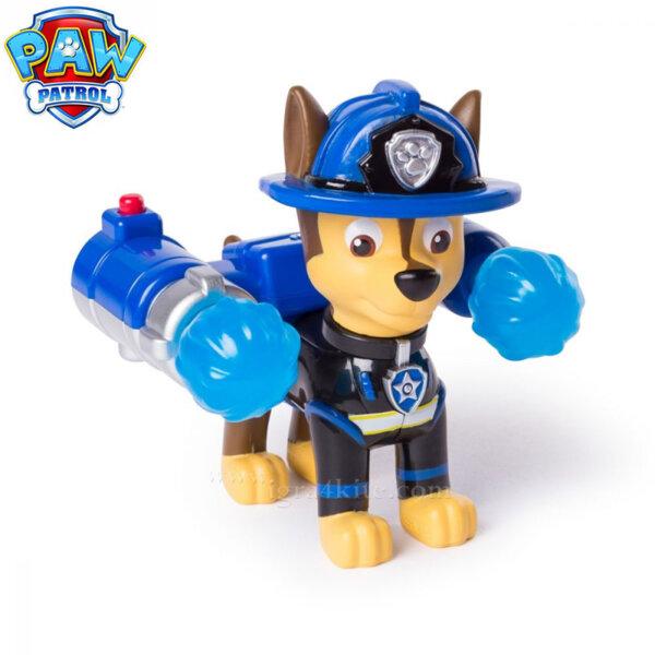 Paw Patrol Кученцето Chase с изстрелвачка и водни ракети 6026592