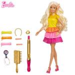 Barbie Кукла Барби фризьорски салон за къдрици GBK24