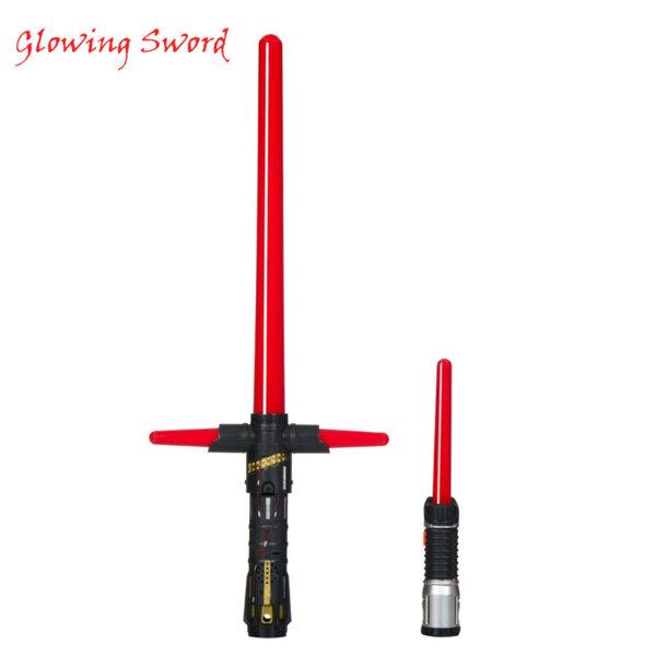 Glowing Sword - Светлинен меч червен 40 см 66640