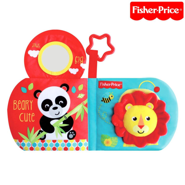 Fisher Price Мека бебешка книжка с активности F0828