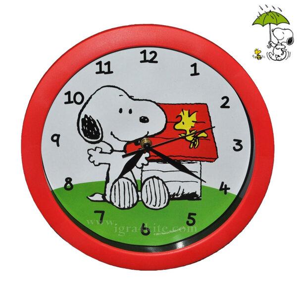Snoopy Стенен часовник 39 см 154516