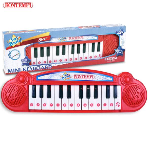 Bontempi Детски електронен мини синтезатор с 24 клавиша 193103
