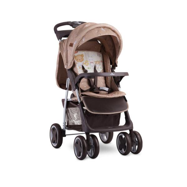 Lorelli Детска количка FOXY BEIGE BEAR PARTY 10020041954