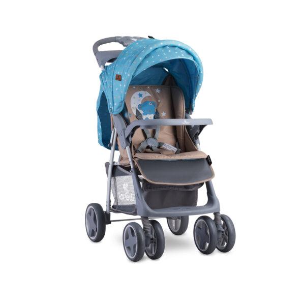 Lorelli Детска количка FOXY BLUE&BEIGE MOON BEAR