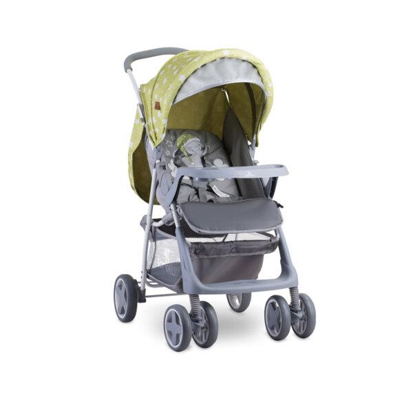 Lorelli Детска количка TERRA GREEN&GREY ELEPHANT 10020461937