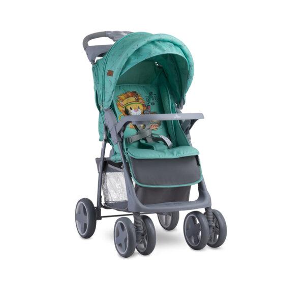 Lorelli Детска количка с покривало FOXY  GREEN INDIANS 10020521920A