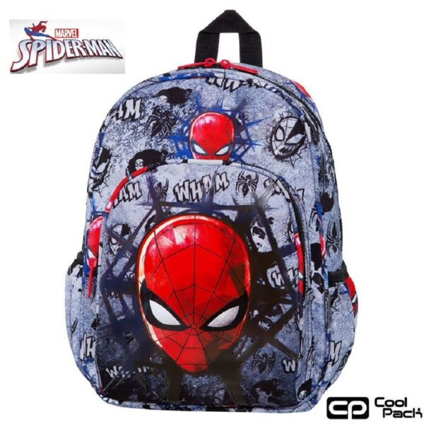 Cool Pack Toby Раница за детска градина Spiderman Black B49303