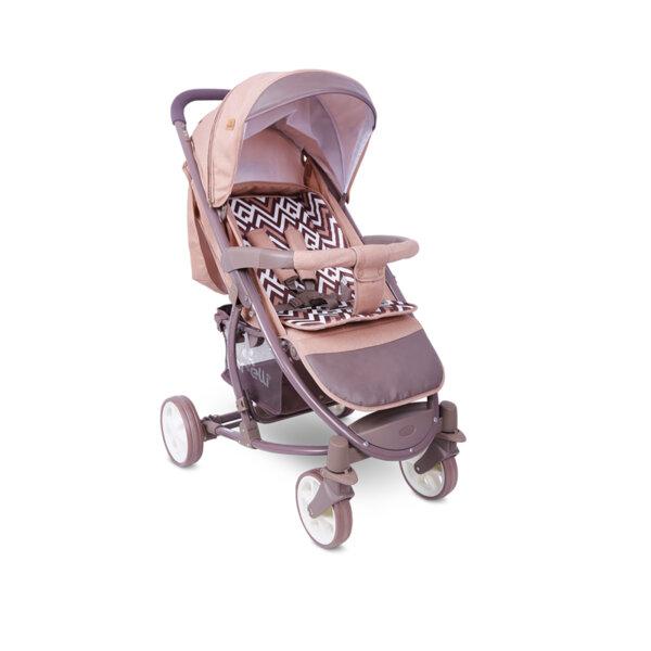Lorelli Детска количка S-300 BEIGE&BROWN LINES 10020841940