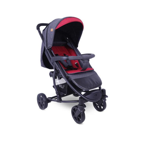 Lorelli Детска количка S-300 BLACK&RED 10020841958