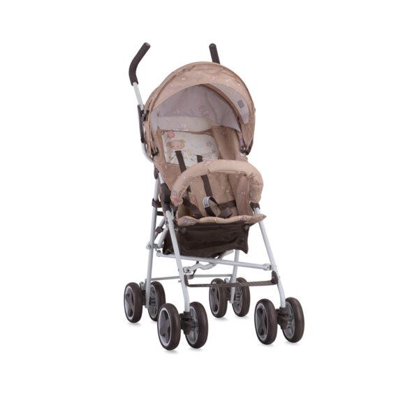 Lorelli детска количка TREK BEIGE BEAR PARTY 10020881954