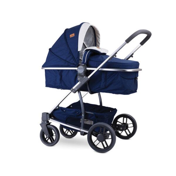 Lorelli Детска количка S-500 DARK BLUE FLOWERS 10020931959