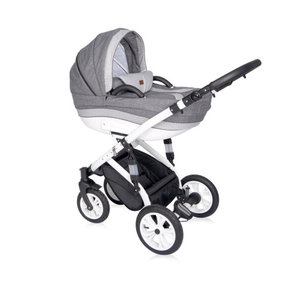Lorelli детска количка MIA LIGHT&DARK GREY 3в1 10021011913