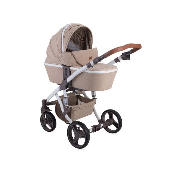 Lorelli Детска количка  RIMINI  BEIGE TRIANGLES 10021051965