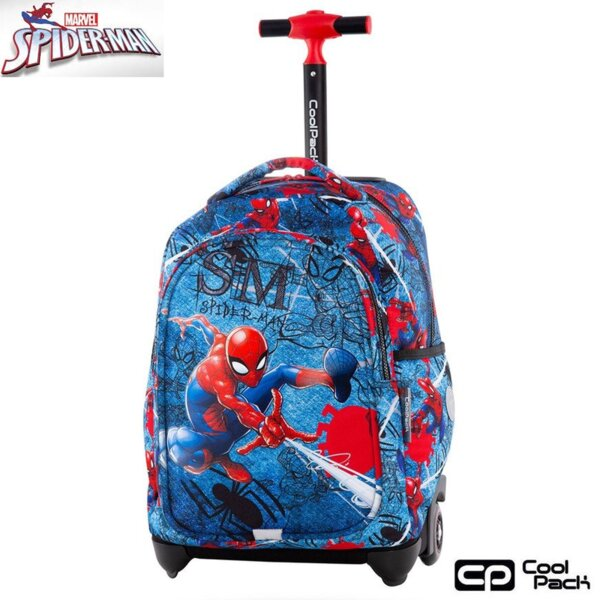 Cool Pack Jack Раница на колела Spiderman Denim B53304