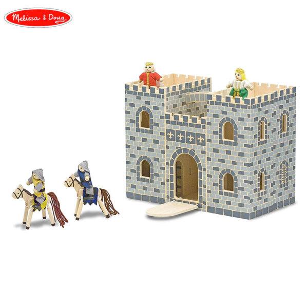Melissa & Doug Дървен рицарски замък 13702